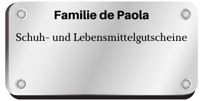 Familie de Paola