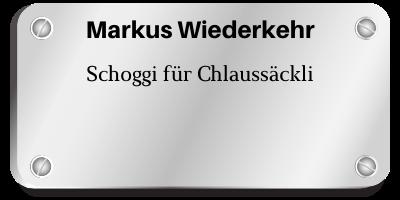 Markus Wiederkehr